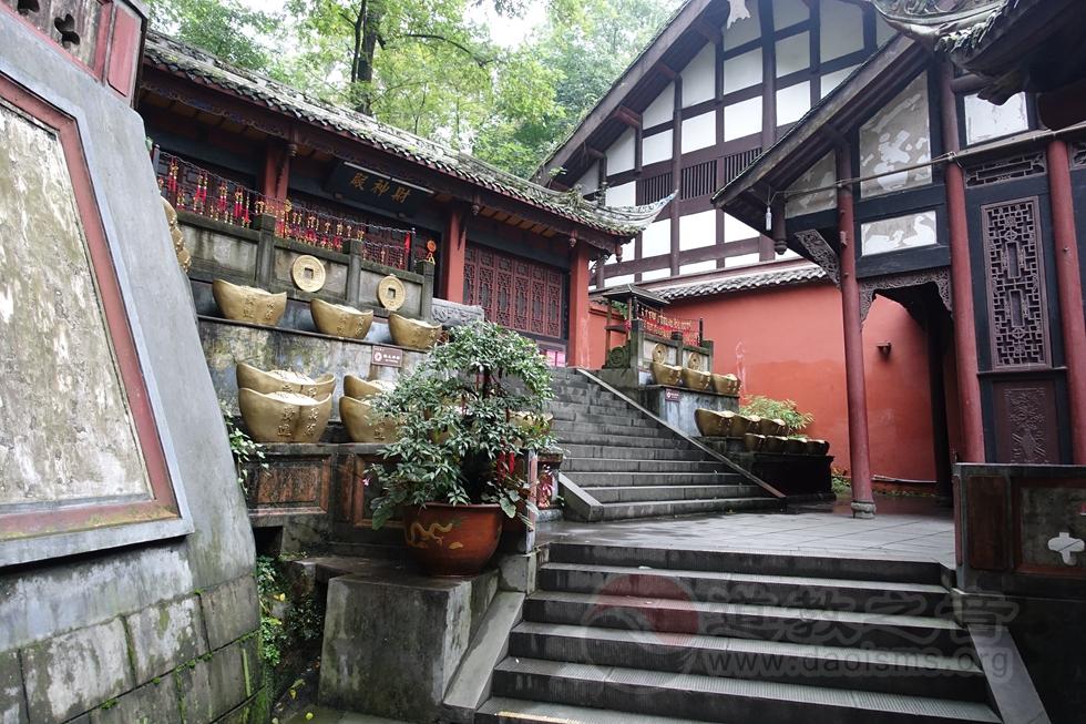 四川都江堰城隍庙