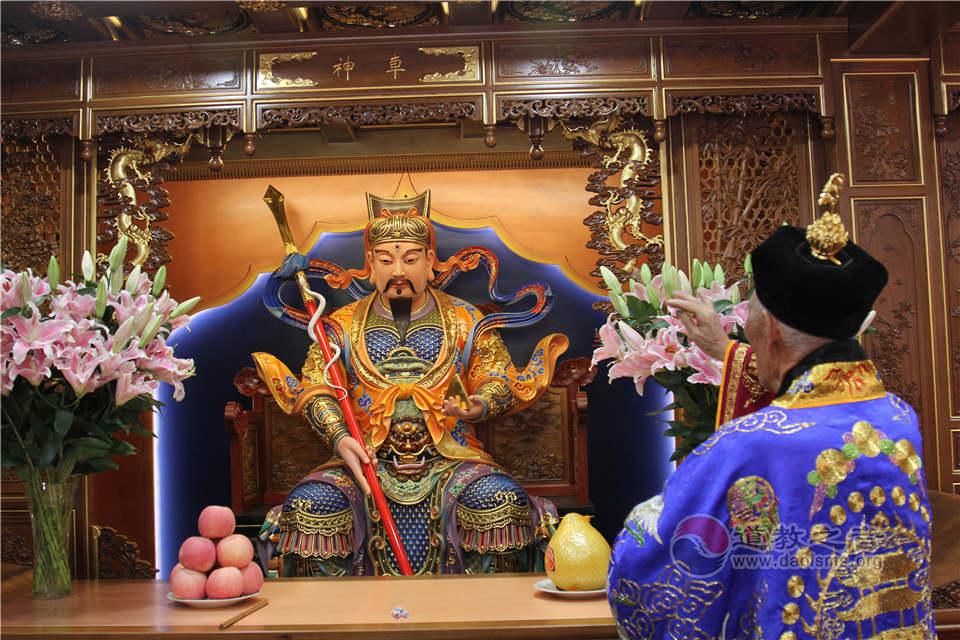 上海城隍庙恢复开放20周年暨住持升座大典举行