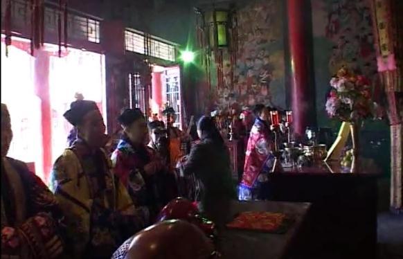 辽宁沈阳蓬瀛宫东北韵《接玉皇驾》(视频)