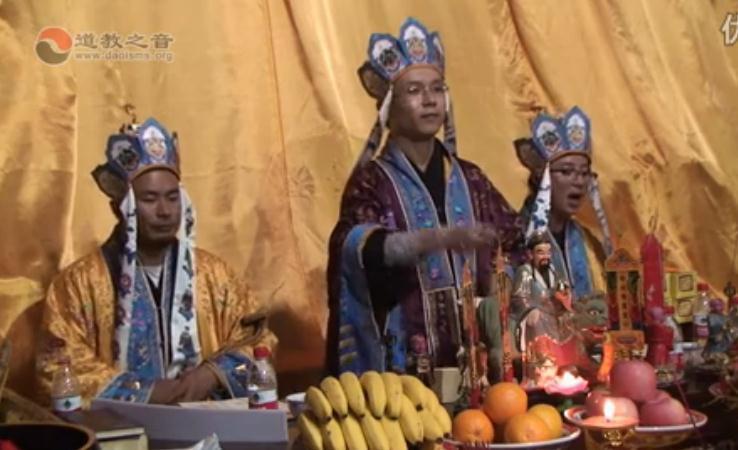 河北清河玉皇宫开光祈福法会《铁罐施食》下(视频)