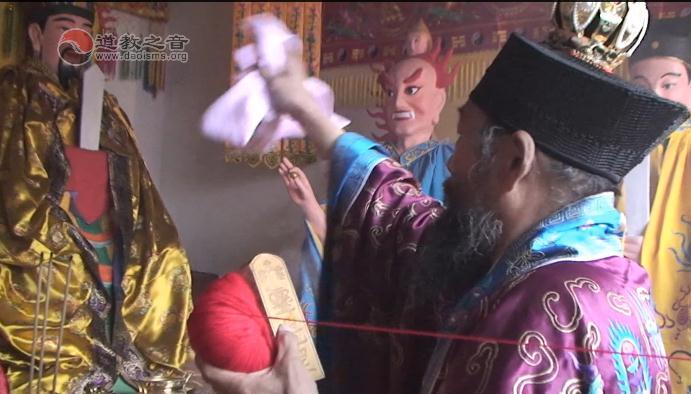 河北清河玉皇宫开光祈福法会《开光科仪》(视频)