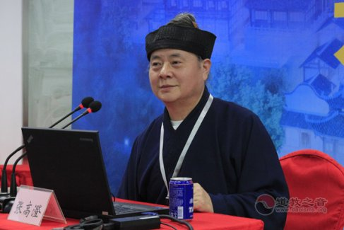 中国道教协会副会长、桐柏宫住持张高澄道长