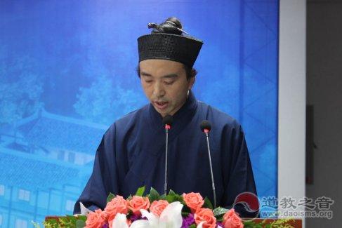 邓信德道长:玄门讲经对于弘扬道教优秀文化有积极作用