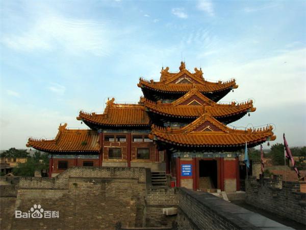 陕西华阴西岳庙