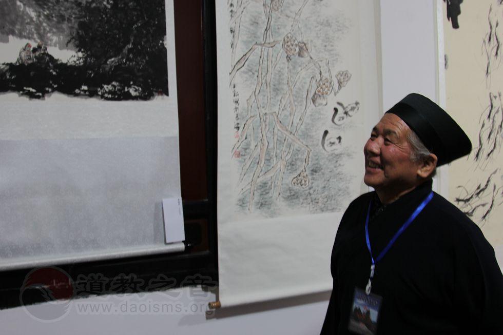 中国道教协会副会长、河南省道教协会会长黄至杰道长