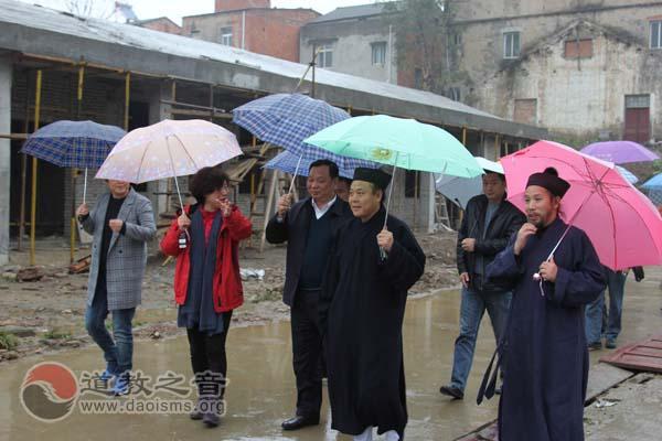 北京白云观、香港青松观援建武汉蔡甸港洲小学仪式举行