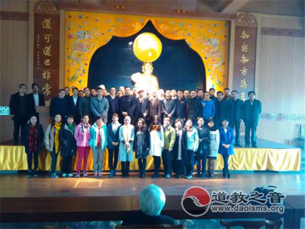 南京现代快报学院师生到茅山道院参访学习