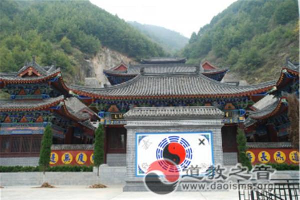 陕西汉中市石门山河观