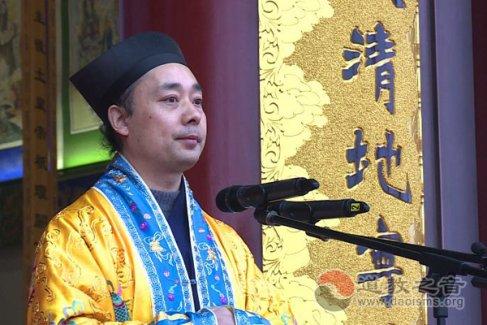 胡诚林道长:继承道教优秀传统,努力发挥自身优势