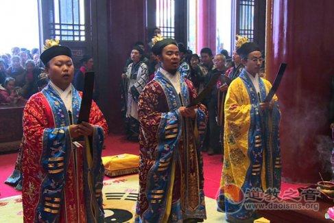 陕西宝鸡金台观三清大殿落成开光法会(视频)