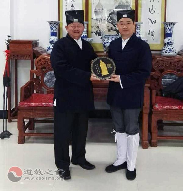 马来西亚道教总会访问团参访江西葛仙山