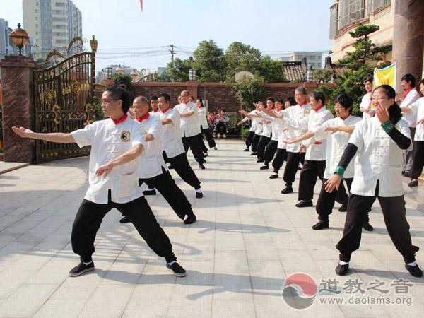 广州道教养生公益团赴普宁演出 传播养生理念