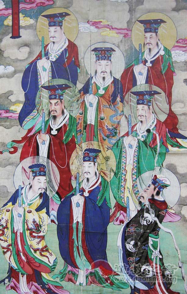 三山五岳神仙像
