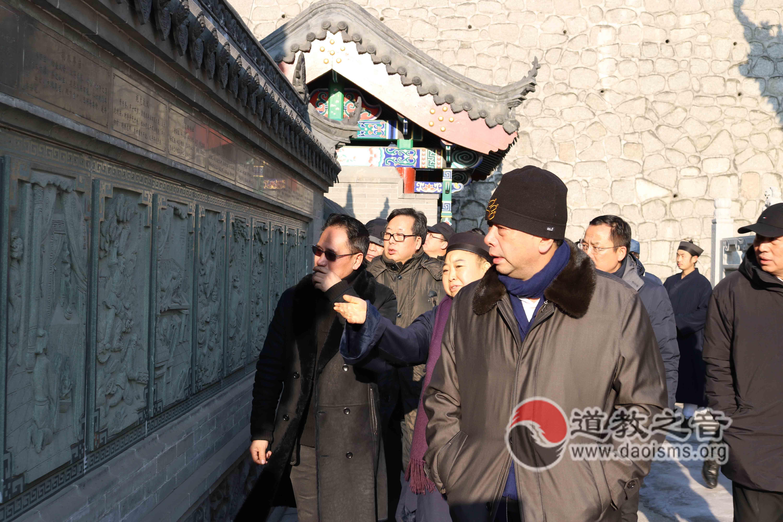 吉林省吉林市领导到北武当玄帝观现场办公