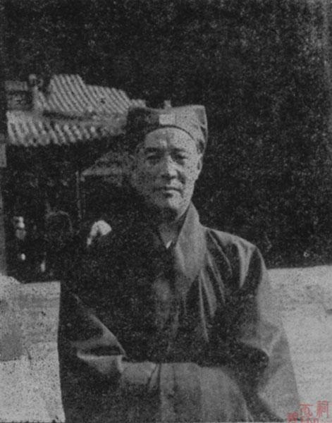 原山东省道教协会会长张常明道长