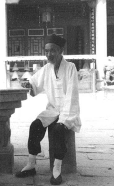 原广东惠州元妙观方丈王诚廉道长