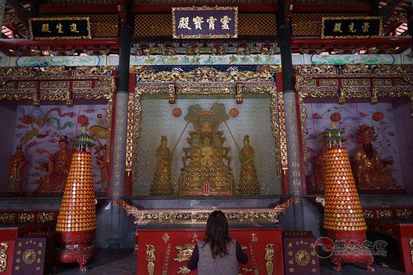 惠泽尊王护境四旗的传说