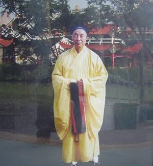 温州市道教协会名誉会长——陈崇杰道长