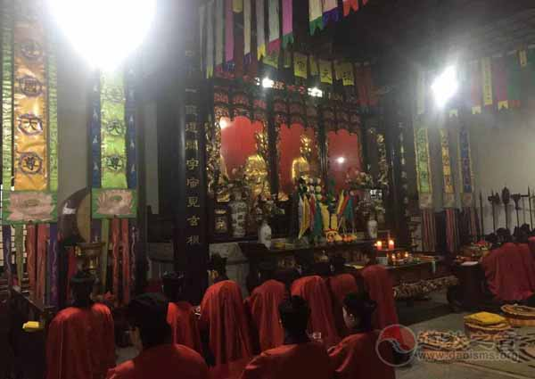 南岳道教协会经韵科仪学习班在南岳大庙举行