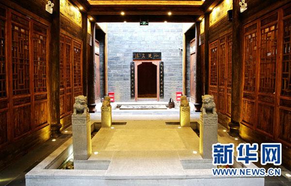 江西南昌万寿宫文化街首座建筑修复完成