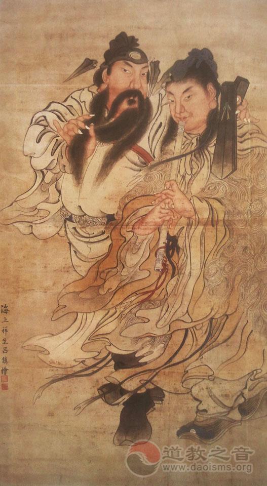 曹国舅、韩湘子