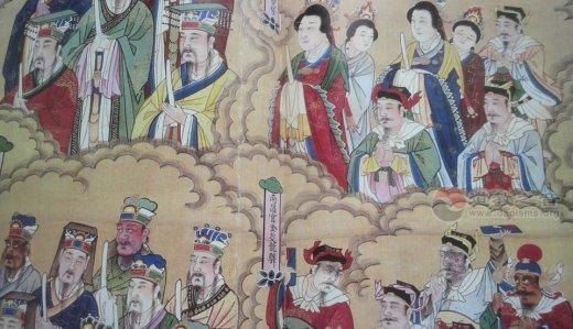 北京白云观水陆神仙像(图集)