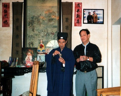 江苏省道教协会首任会长——朱易经道长