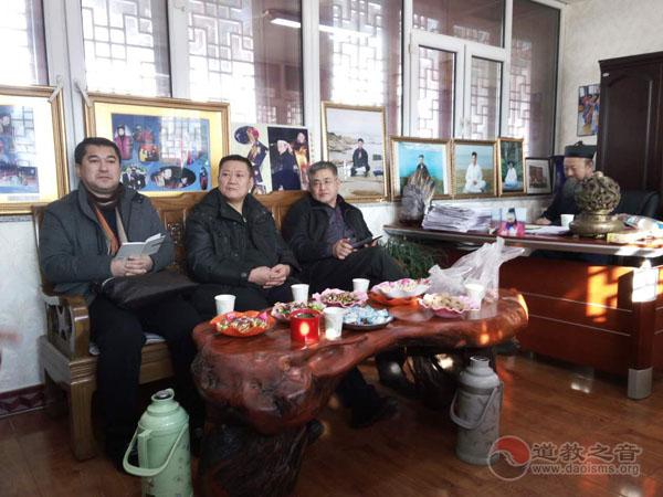 吉林市道教书画院召开2016年第一届会议