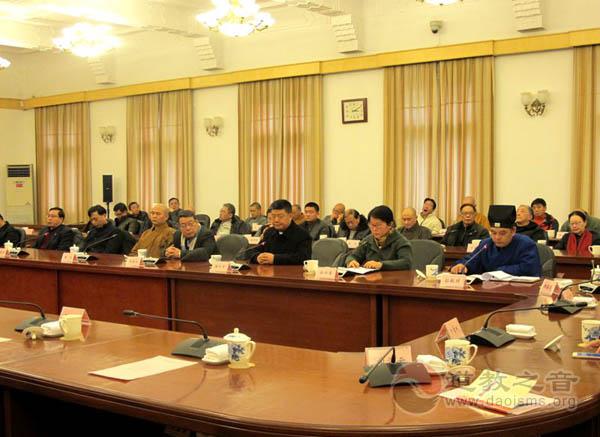 江苏南京民族宗教代表人士迎春座谈会举行
