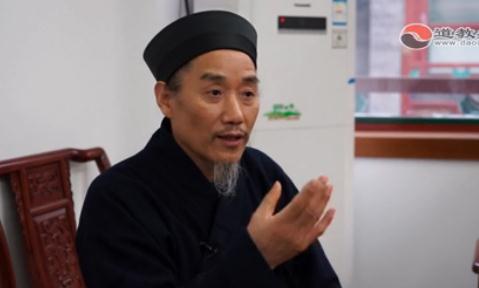 孟至岭道长:邱祖是践行道家出世入世的典范(视频)