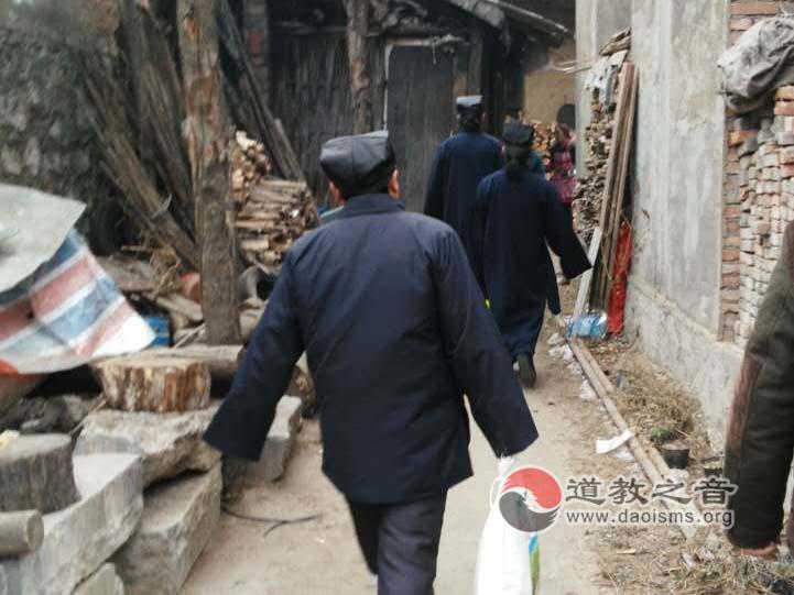 陕西汉中张良庙走访慰问留坝县12余户老人