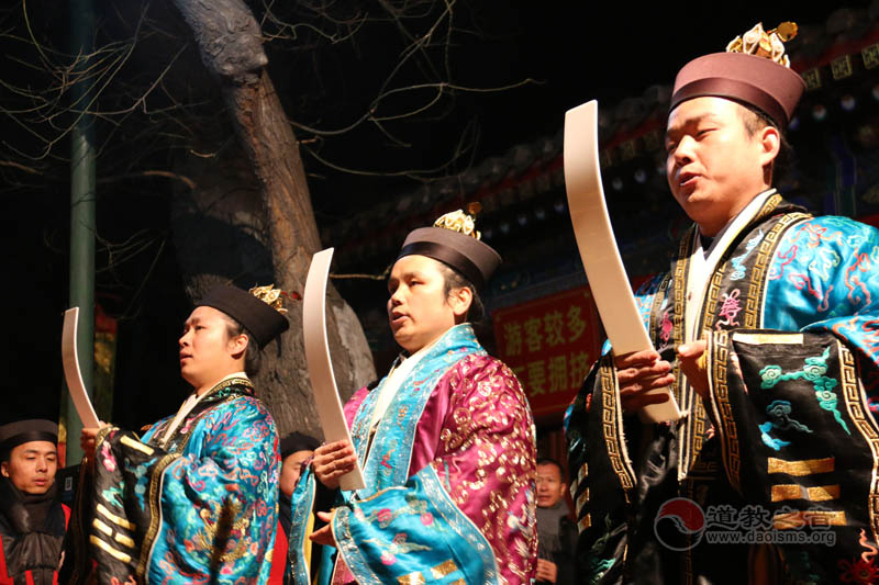 北京白云观乙未年迎銮接驾仪式下(视频)