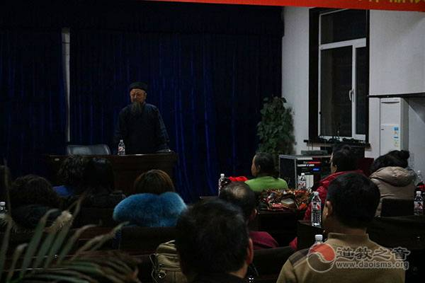 吉林玄帝观举办传统祭灶、度亡、接驾活动