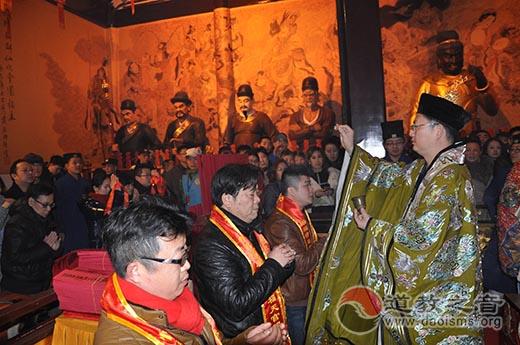 """上海城隍庙举行农历丙申年""""烧头香""""活动"""