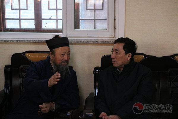 吉林市民宗委主任李彦明一行慰问市道协