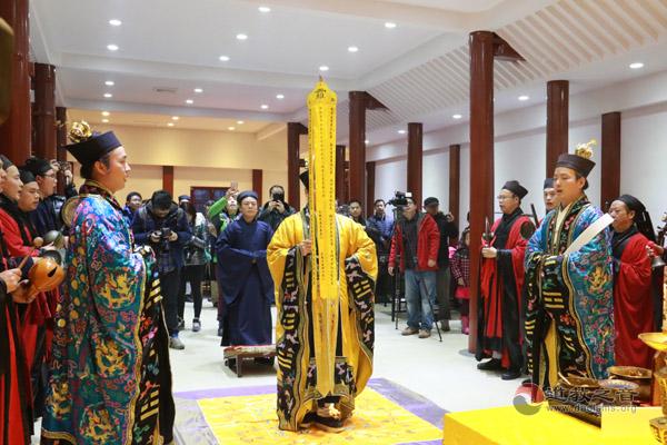 中国道教协会为台湾南部地震遇难同胞举行超度法会