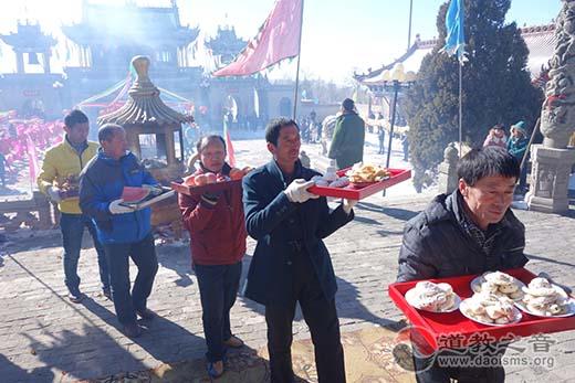 陕西榆阳区卧云山举行新春祈福纳祥庙会活动