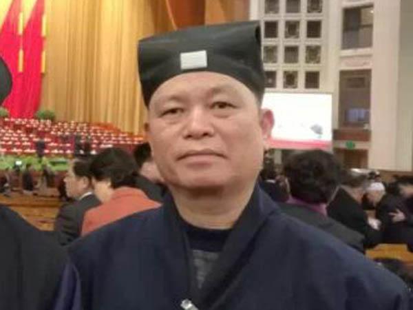 中国道教协会副会长赖保荣道长