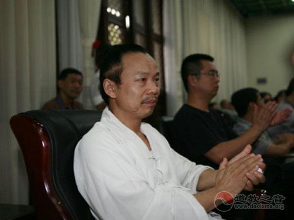 中国道教协会教务部主任周永慎道长