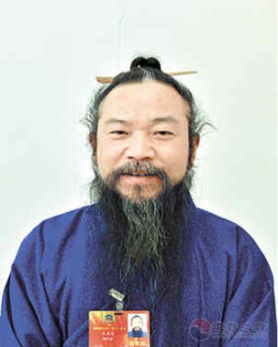 湖南省道教协会常务副会长——马永辅道长
