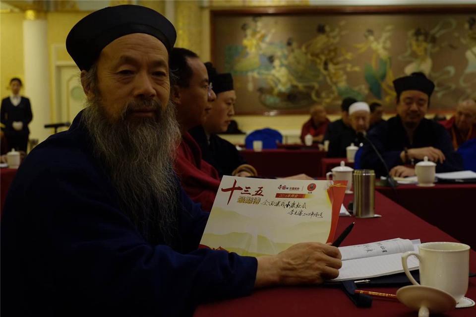 2016年两会道教代表和委员(中国网 记者 王金梅)