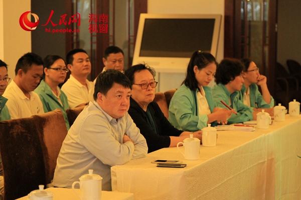 海南省三亚大小洞天开展道家文化知识讲座