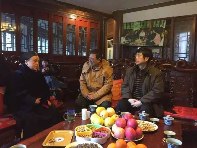 台湾及川大道教学者到青城山道教协会参访