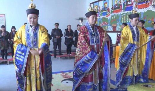 河北固安玉皇观老君圣诞超度法会(视频)