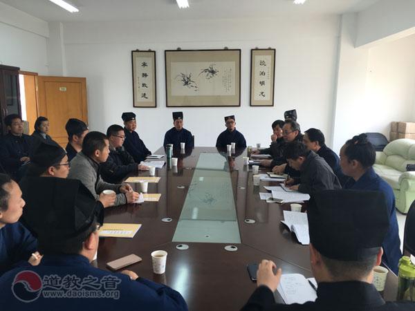 云南省道协到江苏商议重修刘渊然祖师墓