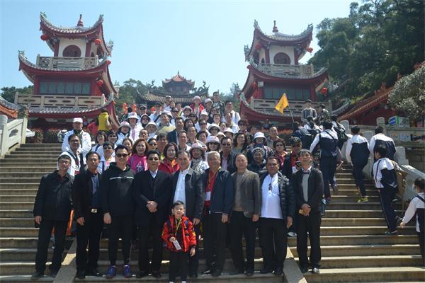 新加坡道教总会前往湄洲妈祖祖庙参访交流