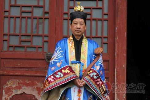 湖北省道教协会副会长鄢金华道长