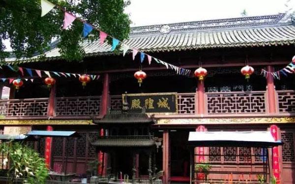 上海金山区廊下城隍庙
