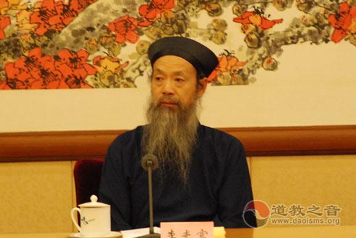 新华网专访李光富道长:塑造有贡献、国际化的道教人才