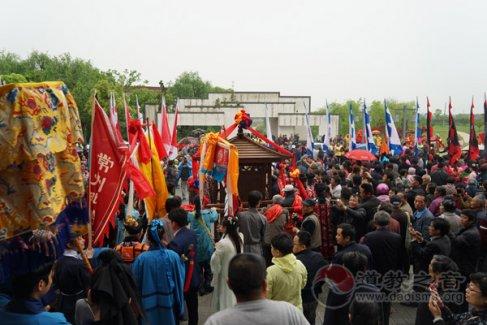 江苏常州花神宫第三届嘉泽花木民俗文化庙会